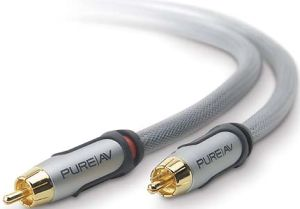 Belkin PureAV Silver Series composite audio cable 4.9m (AV50300ea16)