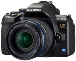 Olympus E-620 black with lens 14-42mm 3.5-5.6 and 40-150mm 4.0-5.6 (N3232292)