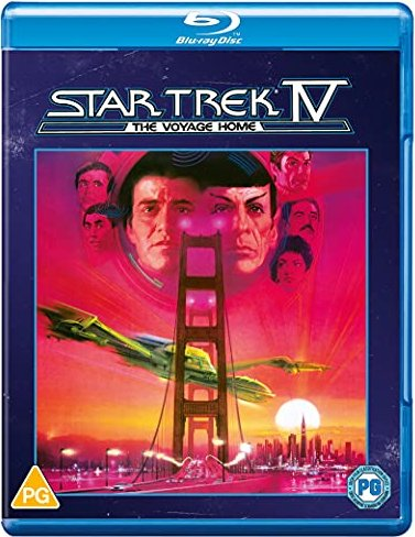 Star Trek  4 - The Voyage Home (Blu-ray) (UK) -- via Amazon Partnerprogramm