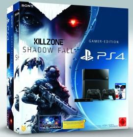 Sony PlayStation 4 - 500GB Killzone: Shadow Fall Bundle schwarz