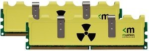 Mushkin Enhanced Radioactive DIMM Kit   8GB, DDR3-1600, CL9-9-9-24 (997005)