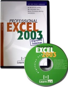 Teia Lehrbuch Verlag Excel 2003 Professional - Digitales Seminar. An Beispielen lernen. Mit Aufgaben üben. Durch Testfragen Wissen überprüfen (deutsch) (PC)