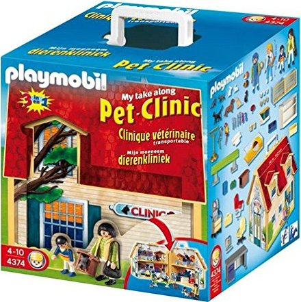 playmobil City Life - Meine Mitnehm-Tierklinik (4374) -- via Amazon Partnerprogramm
