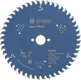 Bosch Professional Expert for Wood Kreissägeblatt 165x2.6x20mm 48Z, 1er-Pack (2608644024)