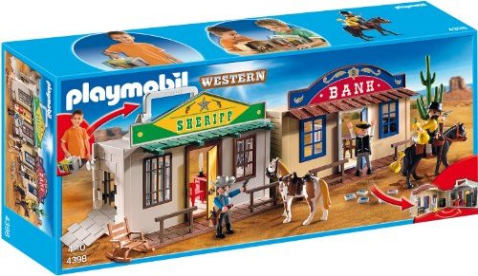 playmobil Western - Mitnehm-WesternCity (4398) -- via Amazon Partnerprogramm