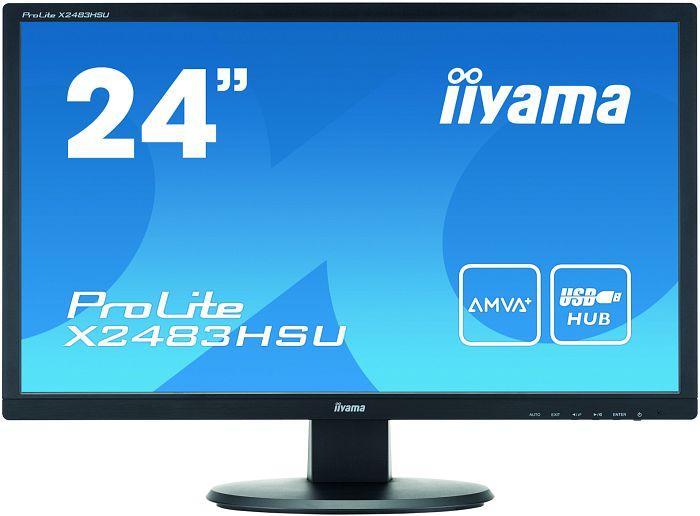 """iiyama ProLite X2483HSU-B1, 24"""""""