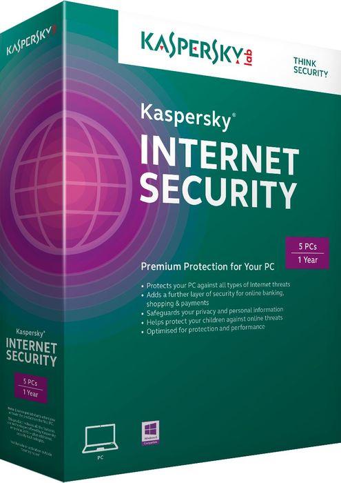 Kaspersky Lab: Internet Security 2015, 3 użytkowników, 1 rok (niemiecki) (PC)