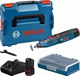Bosch Professional GRO 12V-35 Akku-Geradschleifer inkl. L-Boxx + 2 Akkus 2.0Ah (06019C5001)