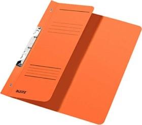 Leitz Schlitzhefter A4, 1/2 Vorderdeckel, orange (37440045)