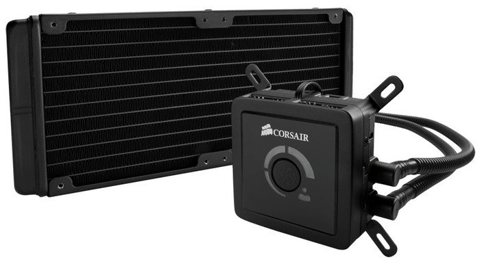 Corsair Hydro Series H100 (Sockel 775/1150/1155/1156/1366/2011/AM2/AM2+/AM3) (CWCH100)