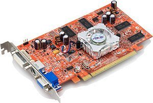 ASUS extreme AX600Pro/TD, Radeon X600 Pro, 128MB DDR, DVI, TV-out, PCIe