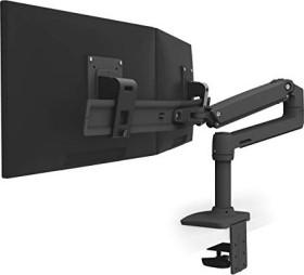 Ergotron LX Dual Direct monitor Arm black (45-489-224)