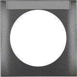 Berker Integro FLOW Rahmen 1fach, anthrazit matt (918032505)