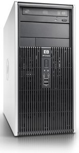 HP Compaq dc5800 MT, Core 2 Duo E8200, 2GB RAM, 250GB, Windows Vista Business (KK375ET)