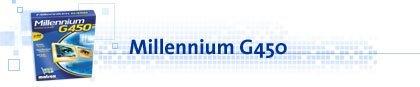 Matrox Millennium G450, 32MB DDR, AGP, retail