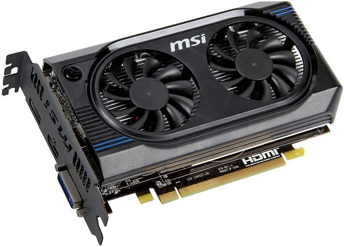MSI R7750-PMD1GD5/OC, Radeon HD 7750, 1GB GDDR5, DVI, HDMI, DisplayPort (V279-010R)