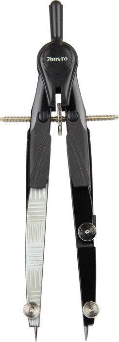 Aristo BLK Schnellverstellzirkel steel, schwarz/silber (AR55715)