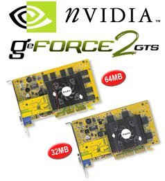 Leadtek WinFast GeForce2 GTS, 32MB DDR, TV-out, AGP, retail