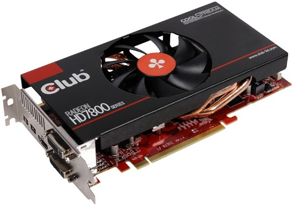 Club 3D Radeon HD 7870 GHz Edition royalQueen, 2GB GDDR5, DVI, HDMI, 2x mini DisplayPort (CGAX-7876F)