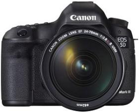 Canon EOS 5D Mark III schwarz mit Objektiv Fremdhersteller