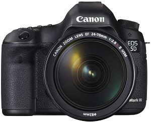 Canon EOS 5D Mark III (SLR) with third-party manufacturer lens