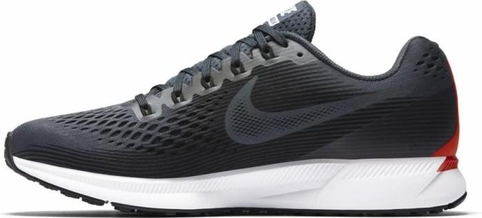 99a8a3ec8c832 Nike Air zoom Pegasus 34 blue fox bright crimson white black (men ...