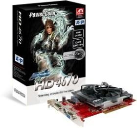 PowerColor Radeon HD 4670 PCS, 1GB DDR3, VGA, DVI, TV-out (R73KG-TI3)
