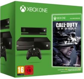 Microsoft Xbox One inkl. Kinect 2.0 - 500GB Call of Duty: Ghosts Bundle schwarz