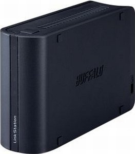 Buffalo lefttation mini black 500GB, Gb LAN (LS-WS500GL/R1)