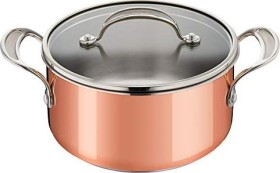 Tefal E49044 Triply Copper by Jamie Oliver Kochtopf mit Glasdeckel 20cm