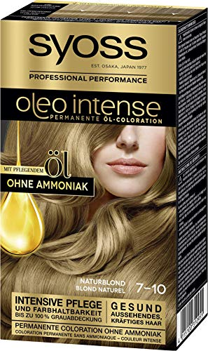 Syoss Oleo Intense hair colour 7-10 natural blonde starting from ... 93f17feabb5