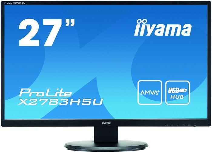 """iiyama ProLite X2783HSU-B1, 27"""""""