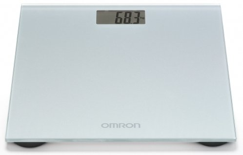 Omron HN-289-ESL electronic personal scale grey