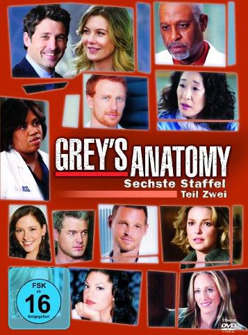 Grey's Anatomy - Die jungen Ärzte Season 6.2 -- via Amazon Partnerprogramm