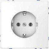 Merten System Design SCHUKO-Steckdose, nickelmetallic (MEG2400-6050)