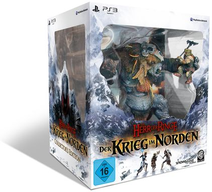 The Lord of the Rings: War in the North - Collector´s Edition (englisch) (PS3)