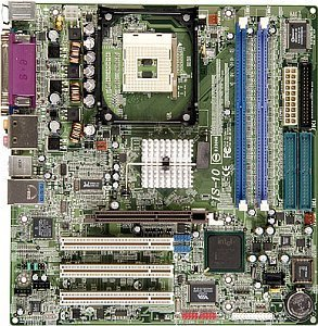 ABIT IS-10, i865G (dual PC-3200 DDR)