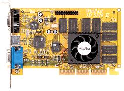 Leadtek WinFast 3D S320 II Pro, TNT2 Pro, 32MB, AGP, retail