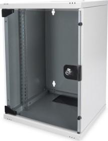 "Digitus Professional DN-10 9HE 10"" Wandschrank grau, 300mm tief (DN-10-09U)"