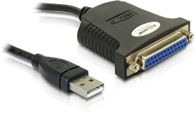 DeLOCK adapter cable parallel port [DB25] to USB 1.1 (61330)