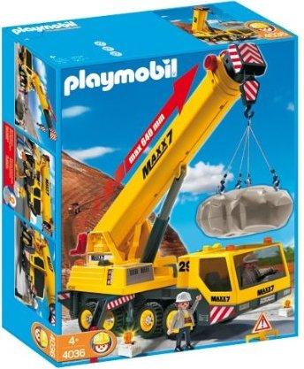 playmobil City Action - Schwerlast-Mobilkran (4036) -- via Amazon Partnerprogramm