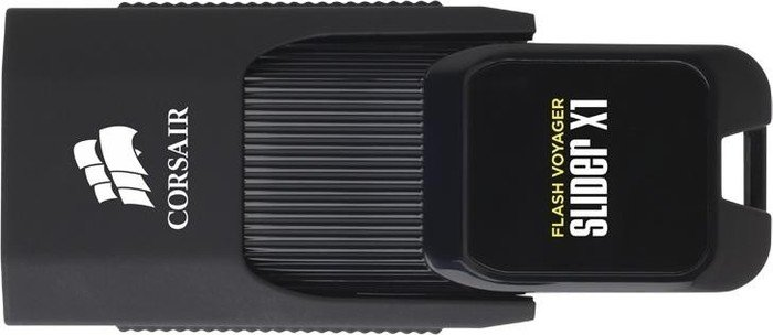 Corsair Flash Voyager Slider X1 64GB, USB-A 3.0 (CMFSL3X1-64GB)
