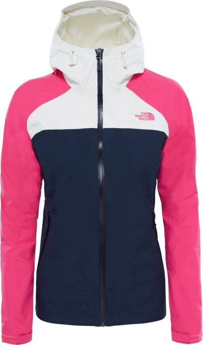 release date ed2e3 4f06b The North Face Stratos Jacke urban navy/petticoat pink/vaporous grey  (Damen) (CMJ0-WWG) ab € 96,90