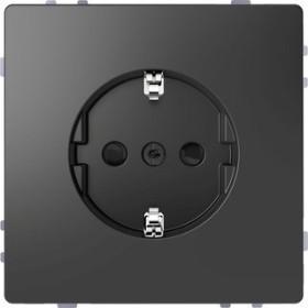 Merten System Design SCHUKO-Steckdose, anthrazit (MEG2400-6034)
