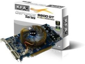 KFA2 GeForce 9800 GT Green Edition, 512MB DDR3, VGA, DVI, HDMI