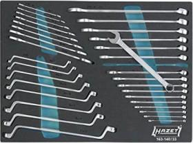 Hazet 163-140/33 Schraubenschlüsselsatz, 33-tlg.