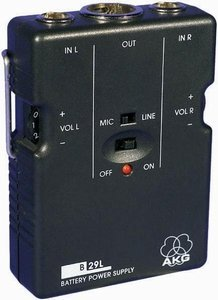 AKG B 29 L battery power supply