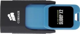Corsair Flash Voyager Slider X2 64GB, USB-A 3.0 (CMFSL3X2-64GB)