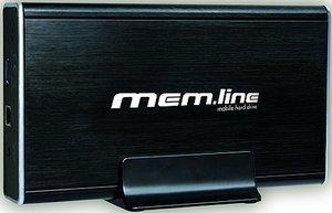 """takeMS mem.line 1TB, 3.5"""", USB 2.0/eSATA (TMSML1TBSAT3503)"""