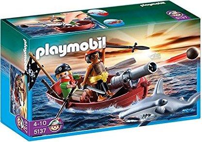 playmobil Pirates - Piraten-Ruderboot mit Hammerhai (5137) -- via Amazon Partnerprogramm
